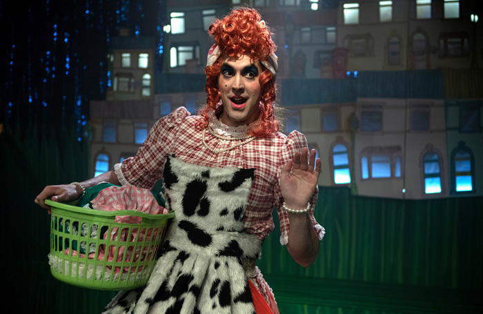 John Savournin in Buttons: A Cinderella Story at King's Head, London. Photo: Bill Knight