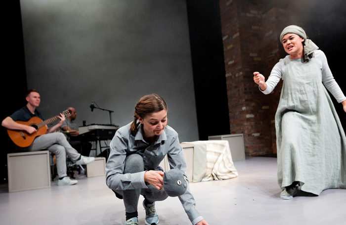 Chloe and the Colour Catcher at Bristol Old Vic. Photo: Paul Blakemore