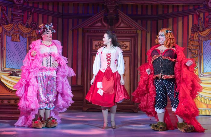 Scene from Cinderella at Churchill Theatre, Bromely. Photo: Craig Sugden