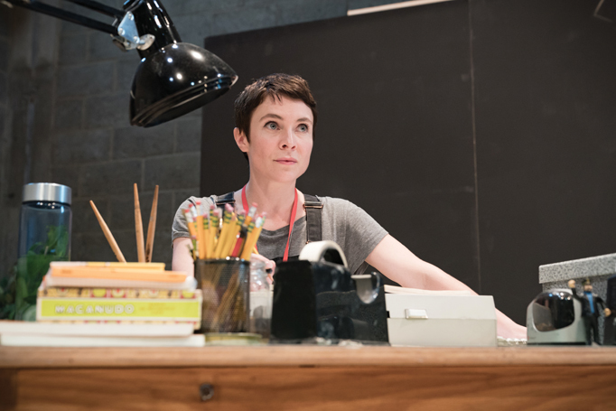 Kaisa Hammarlund recently starred in Jeanine Tesori's Fun Home at the Young Vic. Photo: Marc Brenner