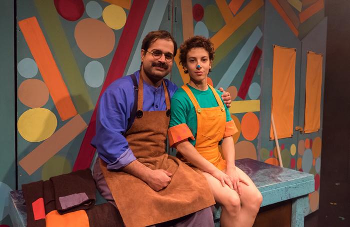 Umar Butt and Floria Da Silva in Pinocchio at the Albany, London. Photo: Liam Croucher