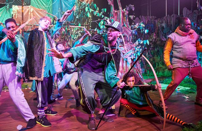 A scene from Robin Hood and the Arrow of Destiny. Photo: Suzi Corker