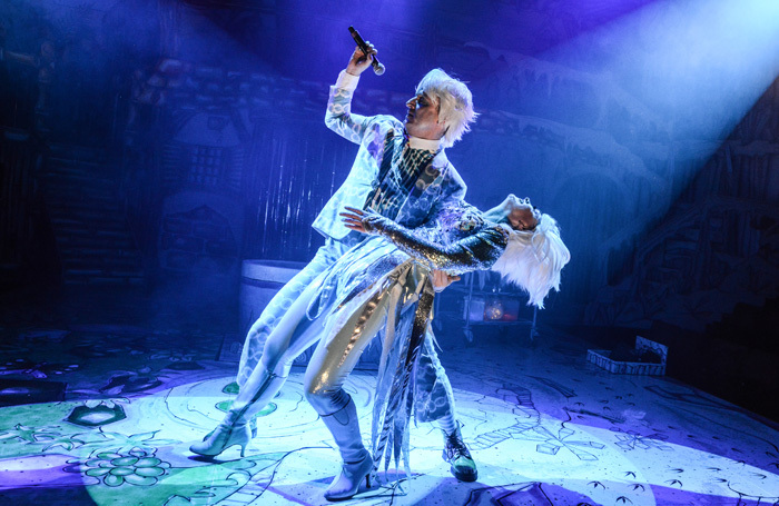 Scene from The Snow Queen at Everyman Theatre, Liverpool. Photo: Robert Day