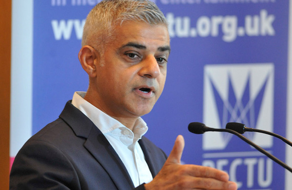 Sadiq Khan joins calls to increase BAME representation in offstage roles