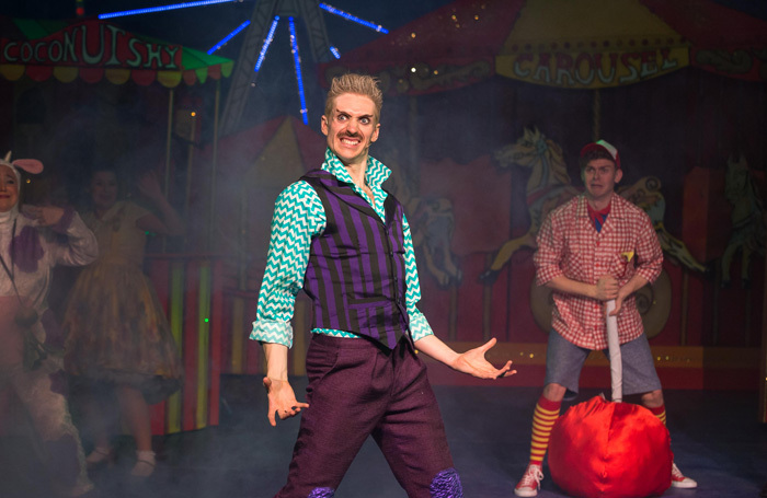 Taylor Rettke in Jack and the Beanstalk at Queen's Theatre, Hornchurch. Photo: Mark Sepple