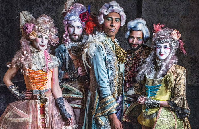 The Scarlet Pimpernel cast. Photo: Rah Petherbridge