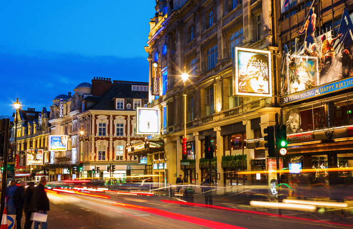 London's West End: the UK's creative industries, including theatre, made a record contribution to the economy last year. Photo: Christian Mueller/Shutterstock