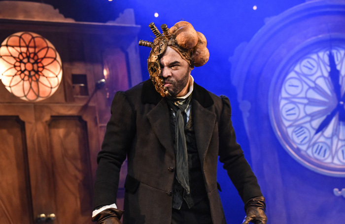 Ashley Gerlach in Beauty and the Beast at Theatre by the Lake. Photo: Robert Day