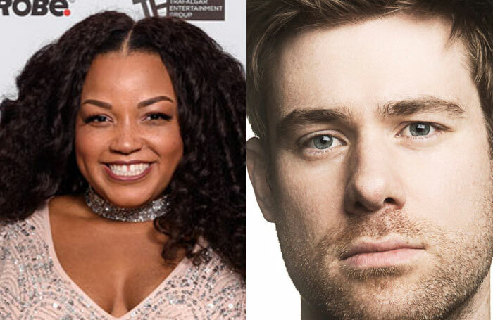 Marisha Wallace and David Hunter will both appear in Waitress in the West End. Photo: (L) Alex Brenner