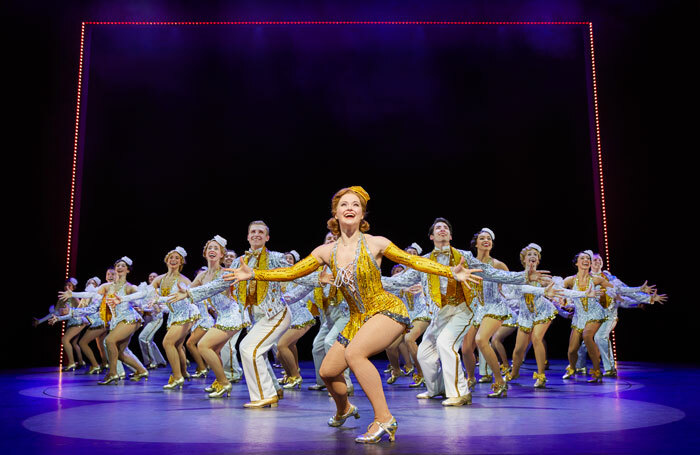 42nd Street, which closes on January 5, 2019 after almost two years at Drury Lane Theatre. Photo: Brinkhoff/Moegenburg