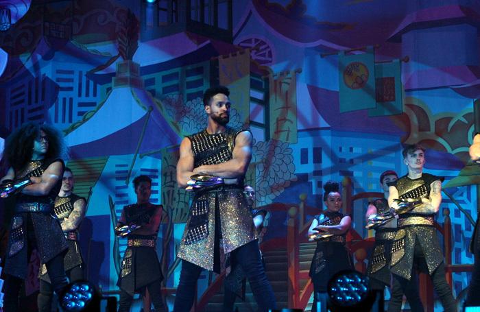 Ashley Banjo and Diversity in Aladdin at Cliffs Pavillon, Southend