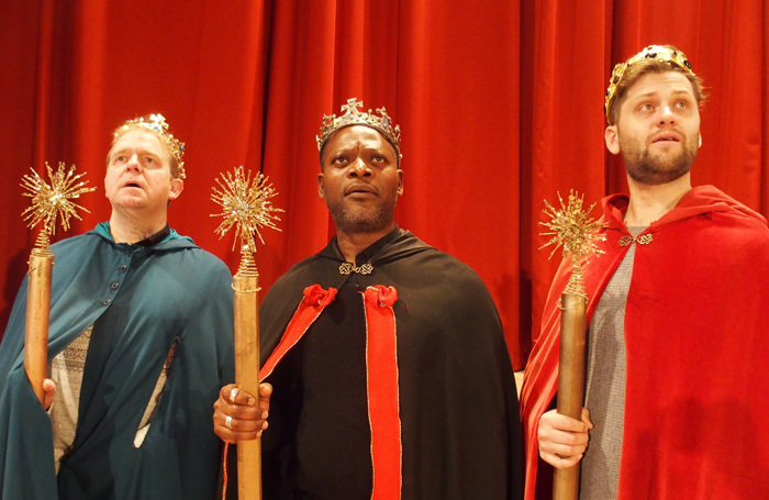 Amahl and the Night Visitors at St John's Smith Square. Photo: Jeremy Gray/ Bampton Classical Opera