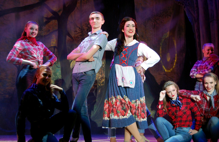 Rachel Lea-Gray in Beauty and the Beast at Princes Hall Theatre, Aldershot