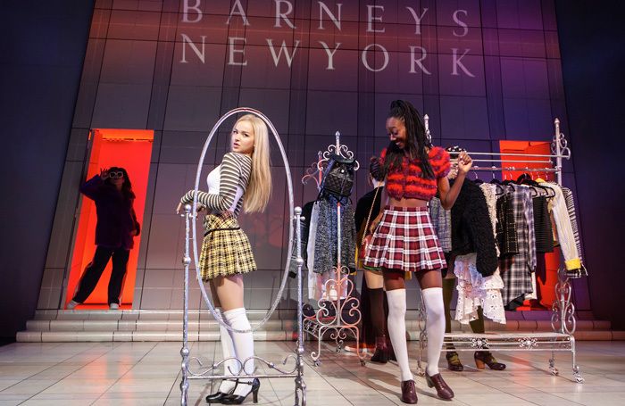 Dove Cameron and the company of Clueless the Musical. Photo: Monique Carboni