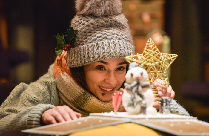Iniki Mariano in Can't Wait for Christmas at Orange Tree Theatre, London