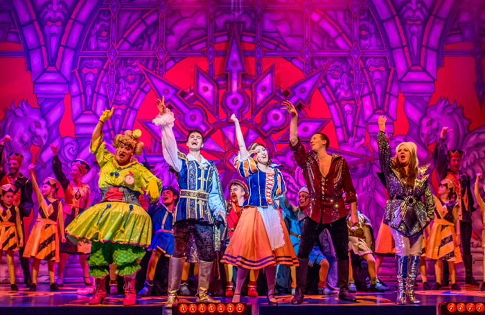 Snow White and the Seven Dwarfs at the Swan Theatre, High Wycombe. Photo: Mihaela Bodlovic
