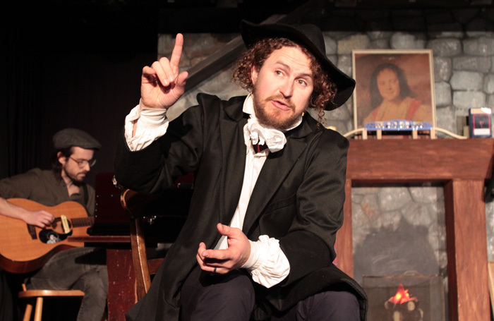 Gary McNair in McGonagall's Chronicles at Traverse Theatre