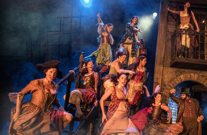 A scene from Les Miserables at Bord Gais Energy Theatre, Dublin. Photo: Matthew Murphy