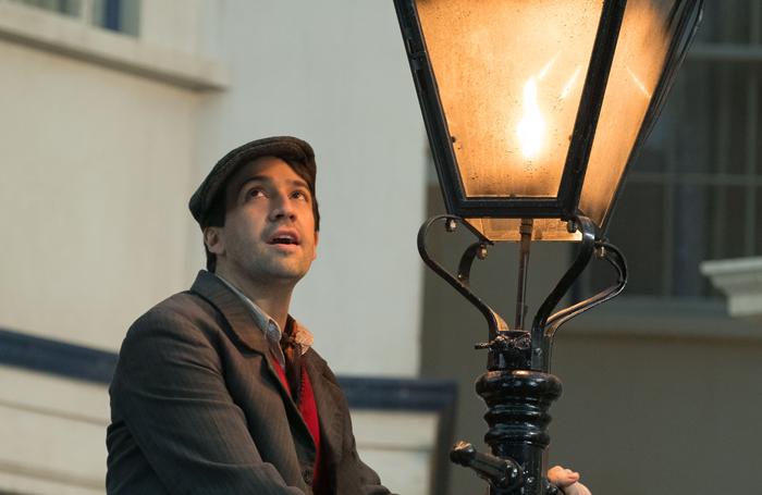 Lin-Manuel Miranda in Mary Poppins. Photo: Jay Maidment