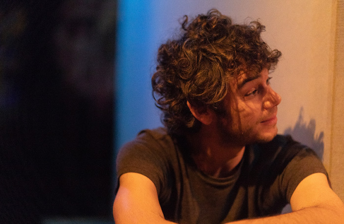 Robert Neumark Jones in One Jewish Boy at Old Red Lion, London. Photo: AF Photography