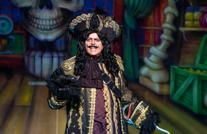 Jimmy Osmond in Peter Pan at Birmingham Hippodrome. Photo: Paul Coltas
