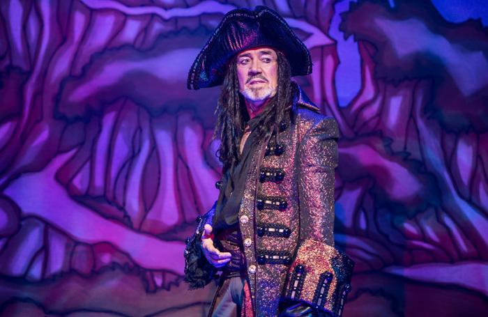 Robert Lindsay in Peter Pan at Richmond Theatre. Photo: Craig Sugden