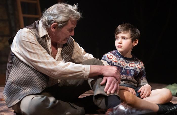 Roger Alborough and Ben Ainsworth in Goodnight Mister Tom. Photo: Gavin Prest
