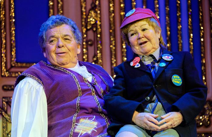 The Krankies in Cinderella at SEC Armadillo, Glasgow