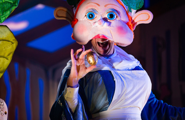 Full House Theatre's Jack and the Beanstalk at Luton Library Theatre. Photo: Shaun Armstrong