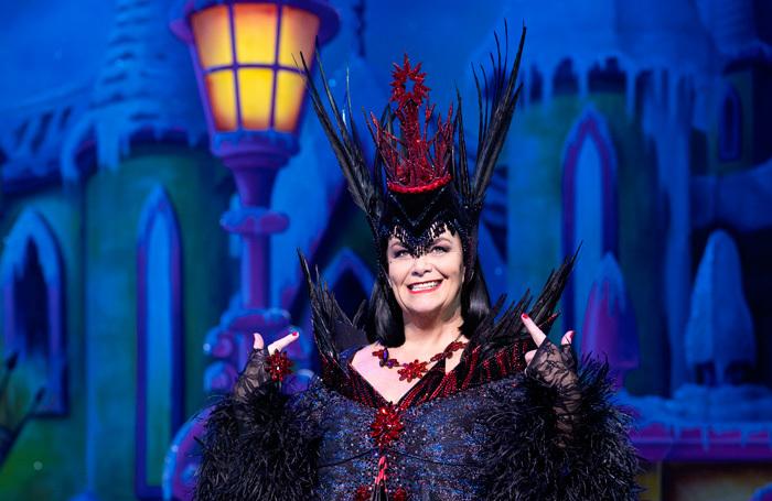 Dawn French in Snow White at London Palladium. Photo: Paul Coltas