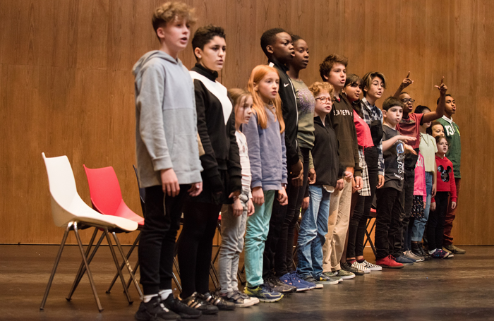 The cast of That Night Follows Day at Southbank Centre. Photo: Hugo Glendinning