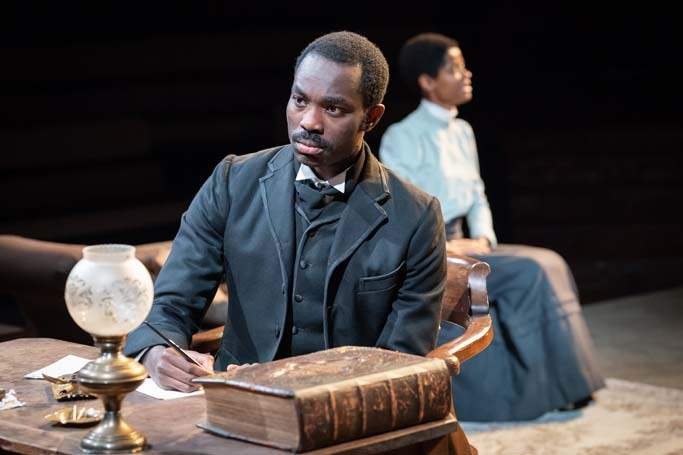 Paapa Essiedu in The Convert at Young Vic, London. Photo: Marc Brenner