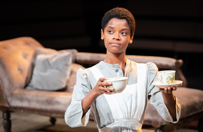 Letitia Wright in The Convert at Young Vic, London. Photo: Marc Brenner