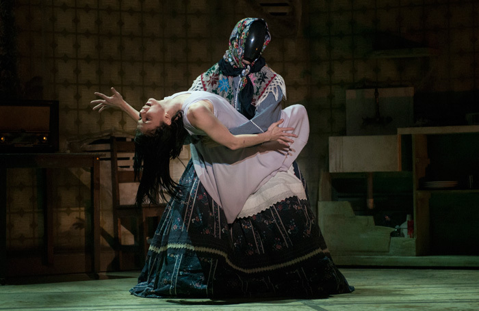Natalia Osipova and Jonathan Goddard in The Mother at EICC, Edinburgh. Photo: Mika Smillie
