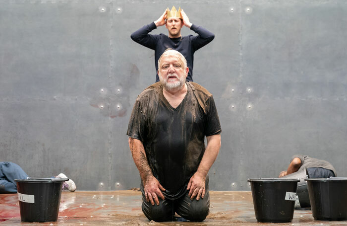 The Tragedy of King Richard the Second at Almeida Theatre, London. Photo: Marc Brenner