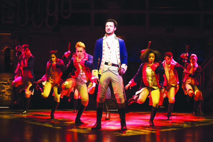 Hamilton in the West End: the show has become its own piece of 'event theatre'. Photo: Matthew-Murphy