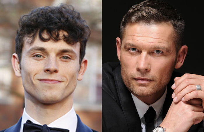 Charlie Stemp and Jon Partridge will lead the cast of Rough Crossing on tour
