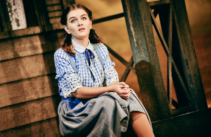 Holly Tandy as Dorothy in The Wizard of Oz at Winter Gardens, Blackpool. Photo: Mark Dawson Photography
