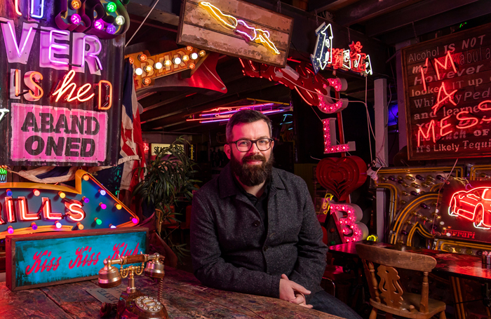 2019 London Borough of Culture Creative Director Sam Hunt. Photo: Andrew Baker