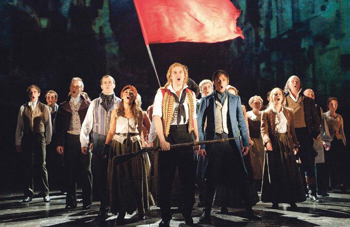 The original production of Les Miserables. Photo: Tristram Kenton