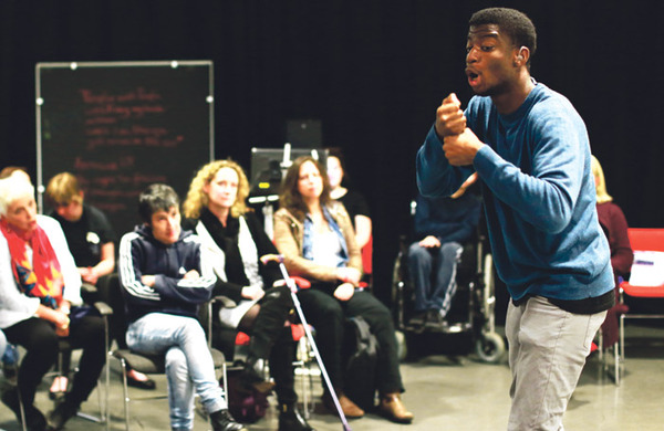 Support Graeae's groundbreaking training for young disabled theatremakers
