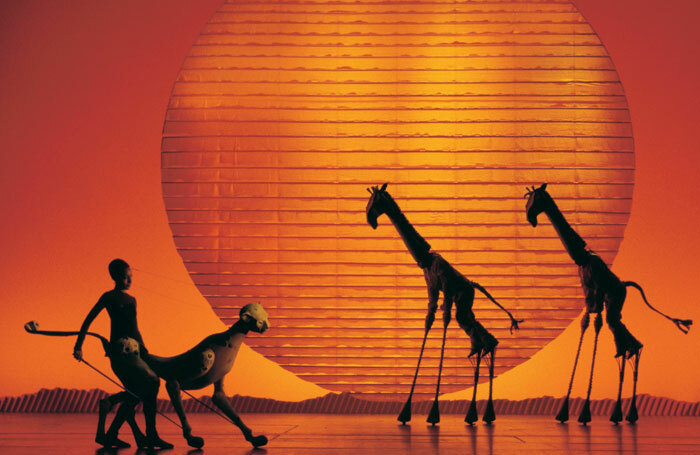 Disney's The Lion King at the Lyceum Theatre, London. Photo: Catherine Ashmore