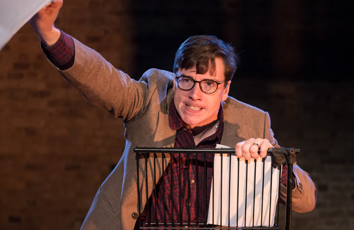 David Mildon in An Enemy of the People at Union Theatre, London. Photo: Scott Rylander