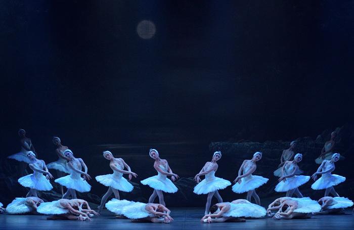 English National Ballet's Swan Lake at London Coliseum. Photo: Laurent Liotardo
