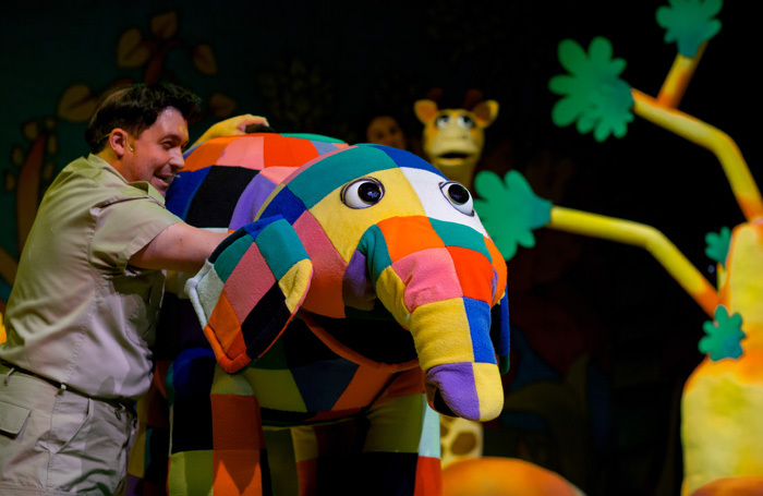 Elmer the Patchwork Elephant at Churchill Theatre, Bromley