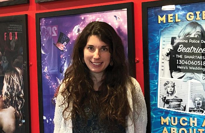 Winner of the Peter Hall Emerging Artist Fellowship, Fay Lomas