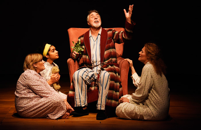 Barrie Rutter and the cast of Jack Lear at Hull Truck Theatre. Photo: Nobby Clark