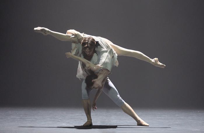 Joseph Caley and Alina Cojocaru in Manon. Photo: Laurent Liotardo