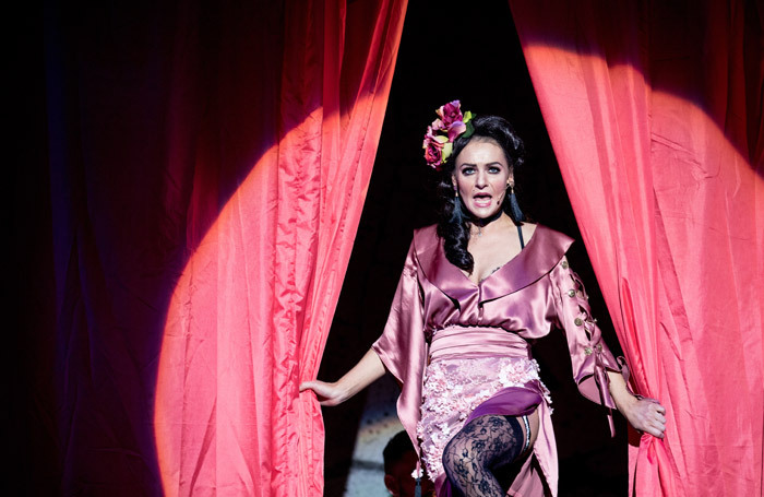 Kerri Quinn in The Threepenny Opera at Lyric Theatre, Belfast. Photo: Christopher Heaney