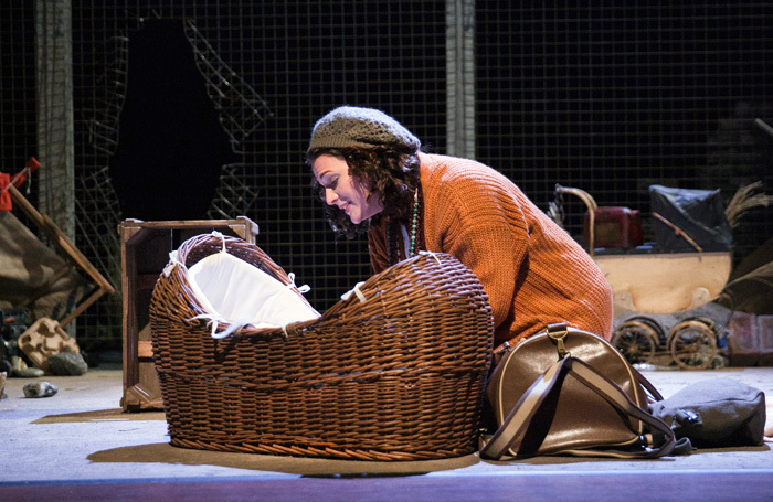 Kathryn Ritchie in My Mother Said I Never Should at Theatre Royal, Windsor. Photo: Sheila Burnett
